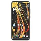 atFolix Panzerfolie kompatibel mit Xiaomi Mi A2 Lite Schutzfolie, entspiegelnde & stoßdämpfende FX Folie (3X)