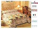 Trapunta 3D Digitale POSITANO Misura: 2 Piazze (matrimoniale) 260 x 260 cm Composizione: 100%microfibra Imbottitura : 100% polyestere