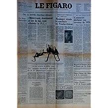 FIGARO (LE) du 11-02-1975 MARCHAIS ATTAQUE - MITTERRAND DOMINATEUR ET SUR DE LUI VEUT AFFAIBLIR LE P.C. RELANCE DE LA DIPLOMATIE DES PETITS PAS - KISSINGER RESOLU A CONCLURE AU PROCHE-ORIENT PAR LUGET LE BOUS EMISSAIRE PAR THIBON COMMENT DECLARER VOS REVENUS DE 1974 BOYCOTT DE BANQUES JUIVES EN FRANCE PAR LES ARABES PEROU - L'HEURE DES BILANS ET DE LA REPRESSION CONTRE L'ECOSSE - LE XV DE FRANCE MODIFIE LES POISONS MORTELS ET DELICEUX DE LA 4EME REPUBLIQUE MENACENT LA 5EME - ...