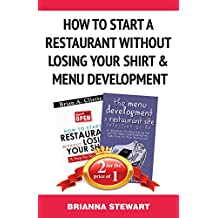 Book Bundle Package: How To Start a Restaurant  Without Losing Your Shirt &  Restaurant Menu Development Book Bundle (Bull City Publishing Book Bundles 2) (English Edition)