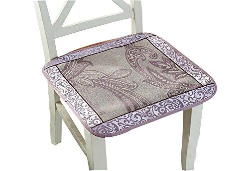 Rattan-Sitze Ice Silk Kissen Breathable Kühle Sitzkissen Stuhlkissen Sommer