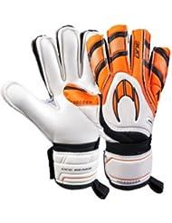 One Protek Flat HO SOCCER - Guantes de portero con protecciones - Goalkeeper gloves con protecciones (6)