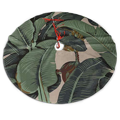 Pengyong - Falda para árbol de Navidad, diseño de Plantas ...