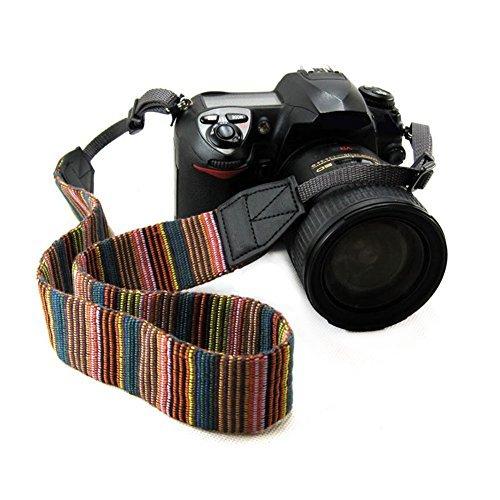 Chmete Bohemia vintage universale regolabile per videocamera fotocamera collo tracolla cintura con imbracatura per adattatore per fotocamera DSLR