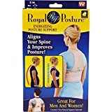 #2: EZZIDEALS Royal Posture Back Support Brace - Corrects Slouching And Eases Pain (S/M)