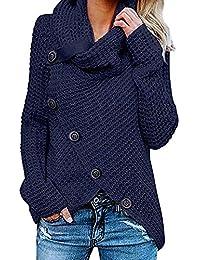 Oliviavan Cardigan Donna Invernale Elegante Maglione Donna Invernale Taglie  Forti Maglioni Maglia Maglieria Eleganti Maglieria Giacca 84c677c0134