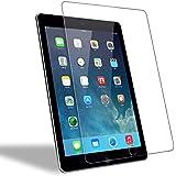 iPad Air 1/ 2 Panzerglas Schutzfolie, WEOFUN Ultra-klar iPad Air 2 Displayschutzfolie, Panzerfolie für iPad Air 1/ 2, iPad Pro 9.7 Panzerglas Folie [0.33mm, Anti-Kratzen, Anti Fingerprint, 9H Härte]