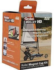 Rollei Support magnétique pour Bullet 3S/4S/5S (Noir)