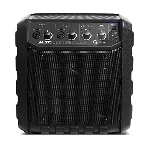 ALTO Professional UBER LT - Bluetooth Lautsprecher 50 Watt mit XLR und Line-Eingang, wiederaufladbare Batterie