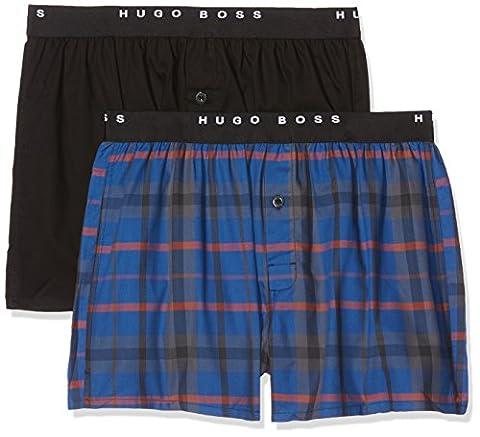 BOSS Hugo Boss Men's Woven Ew 2p 10143734 05 Boxer