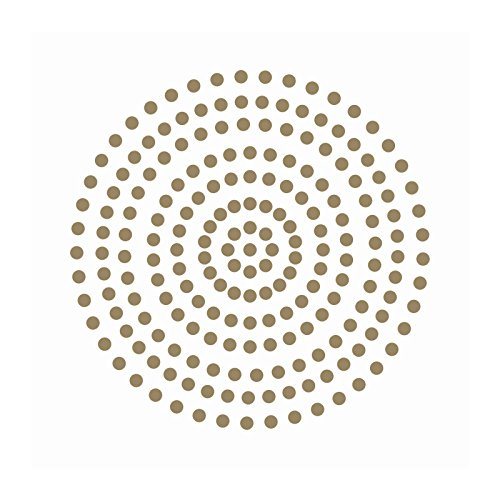 Couture Creations Premium selbstklebend Perlen, Glamorous Gold, 3mm
