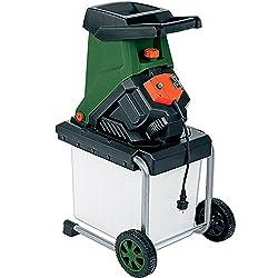Monzana Messerhäcksler | 2500W | elektrisch | max. 40 mm Aststärke | 50L Auffangbox | Gartenhäcksler Häcksler Schredder