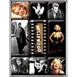 Nostalgic-Art 83003 Celebrities - Hollywood, Magnet-Set (9-teilig)