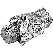 Pezzo di lingotto di 100 g di bismuto puro al 99,99%, puro pezzo di lingotto di lingotto di metallo bismuto per la realizzazione di cristalli