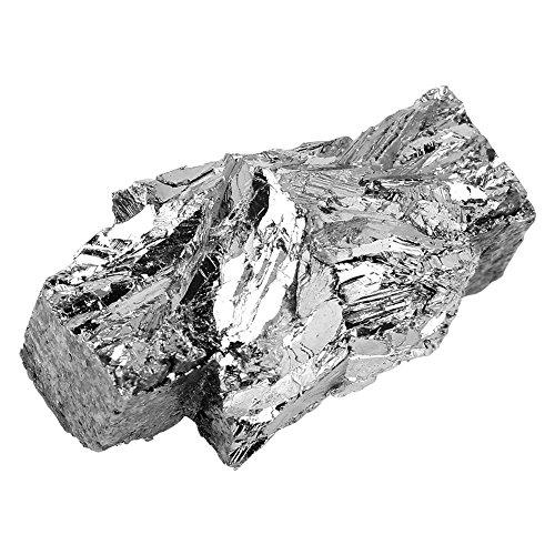 100g Bismut Barren Chunk 99,99% Reiner, Bismut Metal Barren Chunk Reiner Kristall zur Herstellung von Kristallen