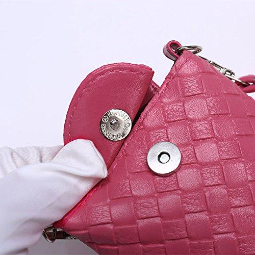 Faysting EU donna borselino borsa a tracolla borsa a spalla borsa a cellulare piccola forma fashion stile conveniente pelle materiale buon regalo san valentino H