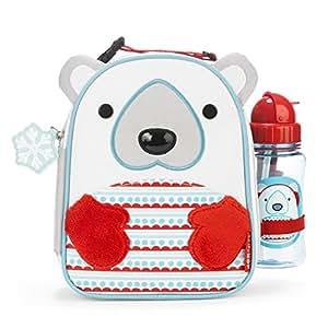 Skip Hop Limited Edition Kit avec sac à déjeuner et gourde en forme d'ours polaire