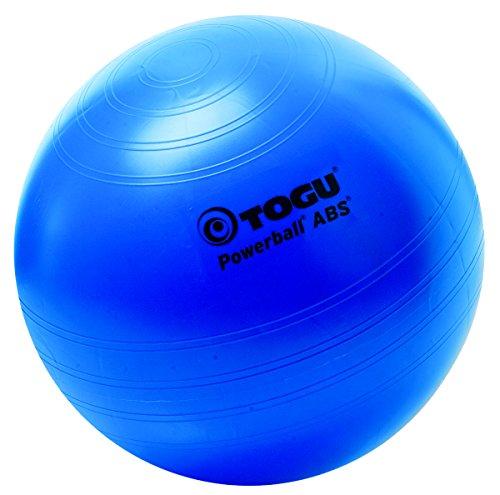 Togu Gymnastikball Powerball ABS (Berstsicher), blau, 45 cm