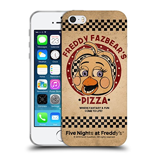 Official Five Nights At Freddy's Toy Chica Freddy Fazbear's Pizza Soft Gel Case for iPhone 5 iPhone 5s iPhone SE