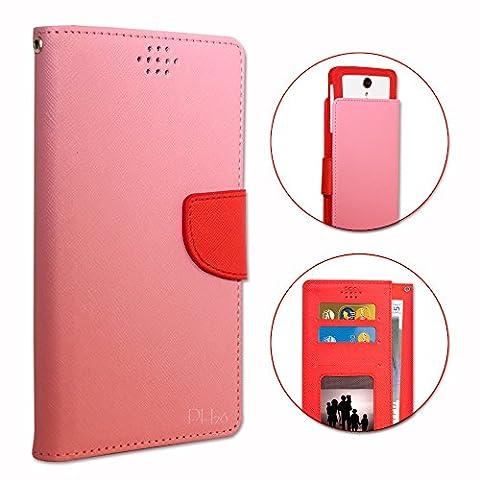 Orange avec Intel Inside Etui Housse folio rose et rouge