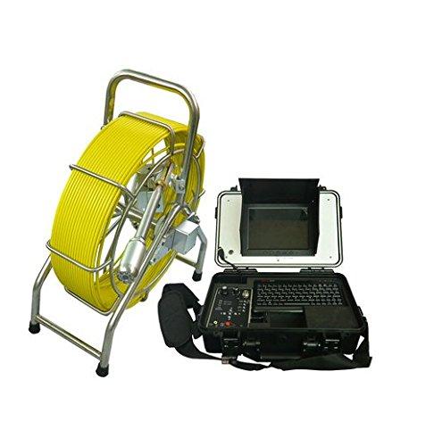 GOWE 40mm autonivelación imagen Tubo Cámara de inspección herramienta Fontanería Industrial cámara de alcantarillado con 60m longitud Sensor tamaño: 1/4'; horizontal Resolución: 600TVL; Sistema de señal: NTSC