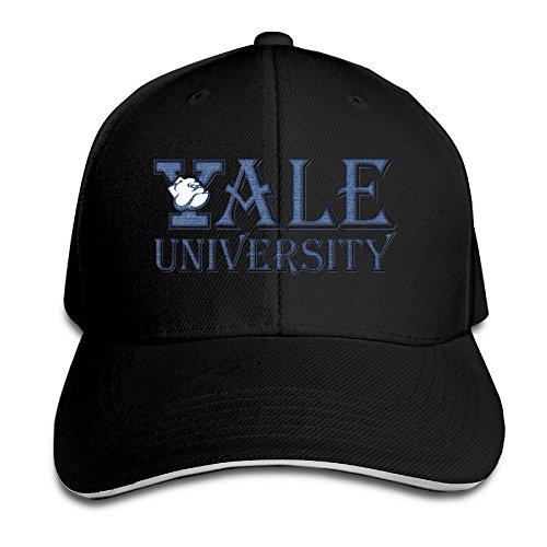 Hittings Unisex Yale University Handsome Dan Distressed Golf Cap Red Black