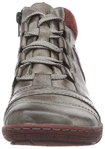 Ginnastica Da Combinato Grigi D3871 grigio Scarpe Alta Donna 42 Indietro xYSHA7Rn