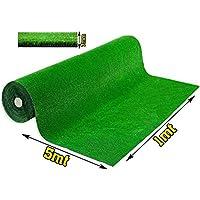 Olivo.Shop - Grass Green, Prato Sintetico da 7mm per Realizzare Giardini o campi da Calcetto. Manto erboso di Finta Erba…