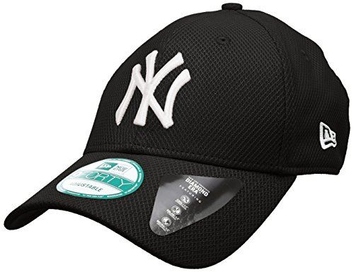 New Era Diamond Era Essential Neyyan Blk - Cappello Linea New York Yankees da Uomo, colore Nero, taglia OSFA