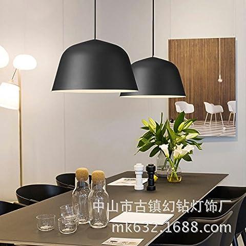 Le luci pendenti ultra compatta creativa in alluminio colorato Ristorante