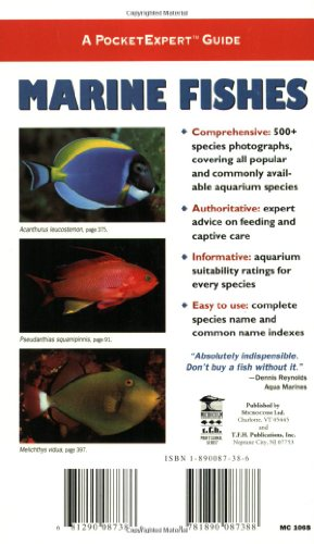 Marine Fishes: 500+ Essential-to-know Aquarium Species (PocketExpert Guide)