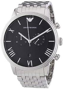 Emporio Armani Herren-Armbanduhr XL Chronograph Quarz Edelstahl AR1617