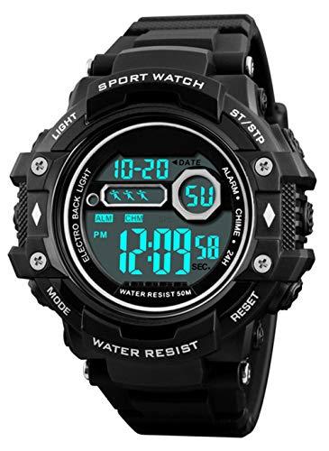 Reloj de Pulsera Digital para Hombres