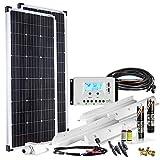 Offgridtec Premium-L 200W 12V Wohnmobil Solaranlage 002735 mit 30A Laderegler und LCD Display