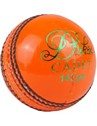 Duques de Cricket Match formación y práctica Cadet una pelota naranja G)