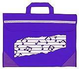 Mapac Mp11310-bk Duo Musique Sac avec motif–Parent violet