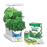 Miracle-Gro AeroGarden Sprout LED mit dem Gourmet-Kräuter Samenkit (Weiß)