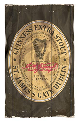 Nostalgic Guinness Cotton T-Towel With The Heritage Stout Label