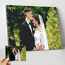 Lienzo personalizado con tu foto - Rectangular - Formato 40 x 50 cm