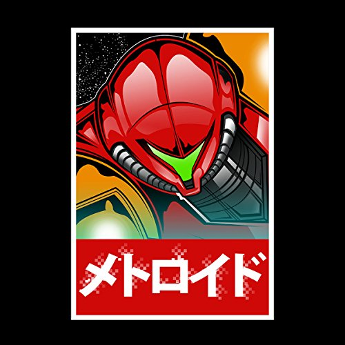 Metroid Bounty Hunter Samus Aran Women's Hooded Sweatshirt Black
