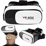 VR Brille, Augen Schonendes HD Virtual Reality Mit Touch-Taste/Schalter Für iPhone X 8 7 6 6S/Plus,Samsung S9 S8 S7 S6/Plus/Edge Note 8,Huawei und Handys Mit 4,5 – 6 Zoll Bildschirm