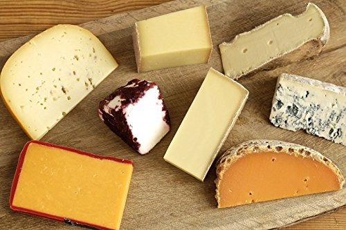 Käseplatte 'Probierpaket Überraschungsauswahl – PETITE' 6 – 8 Sorten Käse = 1000g – Grußkarte GRATIS – Ideales Geschenk / Geschenkset / Präsent (Weihnachten Geburtstag