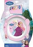 Trudeau 5061204Frozen, Set von 4Melamin/Kunststoff pink Kinder Geschirr