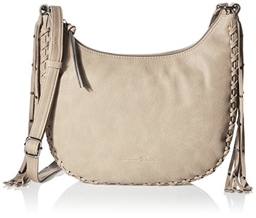 Tom Tailor Denim Damen GEORGIA Henkeltaschen, beige 20), 34x17x7 cm
