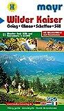 Wilder Kaiser: Wander-, Rad-, MTB- und Tourenkarte 1:25000 mit Wanderführer und Panorama. GPS-geeignet. (Mayr Wanderkarten)