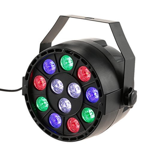 Lixada Bola Discoteca Luces RGB LED Mini Crystal Magic