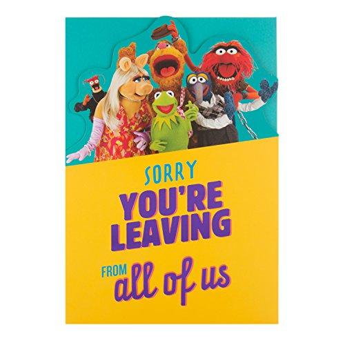 Hallmark Muppets-Leaving-Karte
