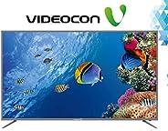 تلفزيون فيديكون الذكي 55 بوصة 4K-UHD بإطار معدني
