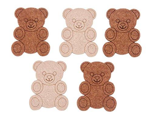 Filz-Stanzteile Bär