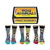 You Animal Oddsocks Socken in 39-46 im 6er Set - Wilde Tiere Oddsocks Strumpf